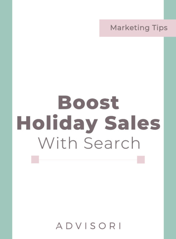 Boost Holiday Sales with Search