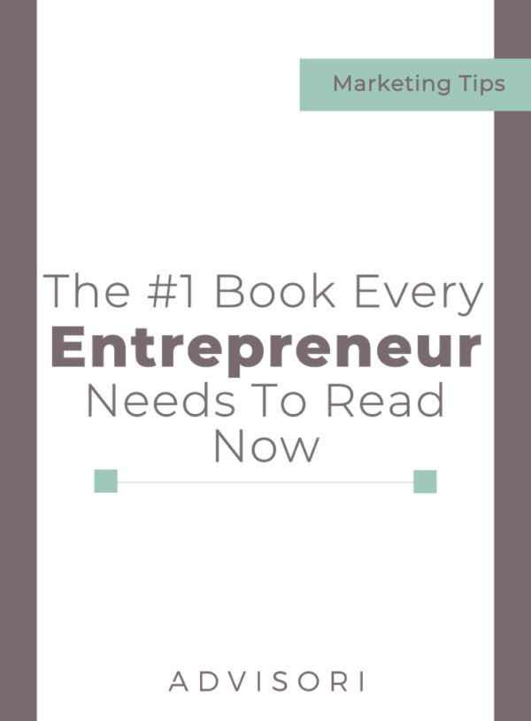 #1 Book Every Entrepreneur Needs to Read Now