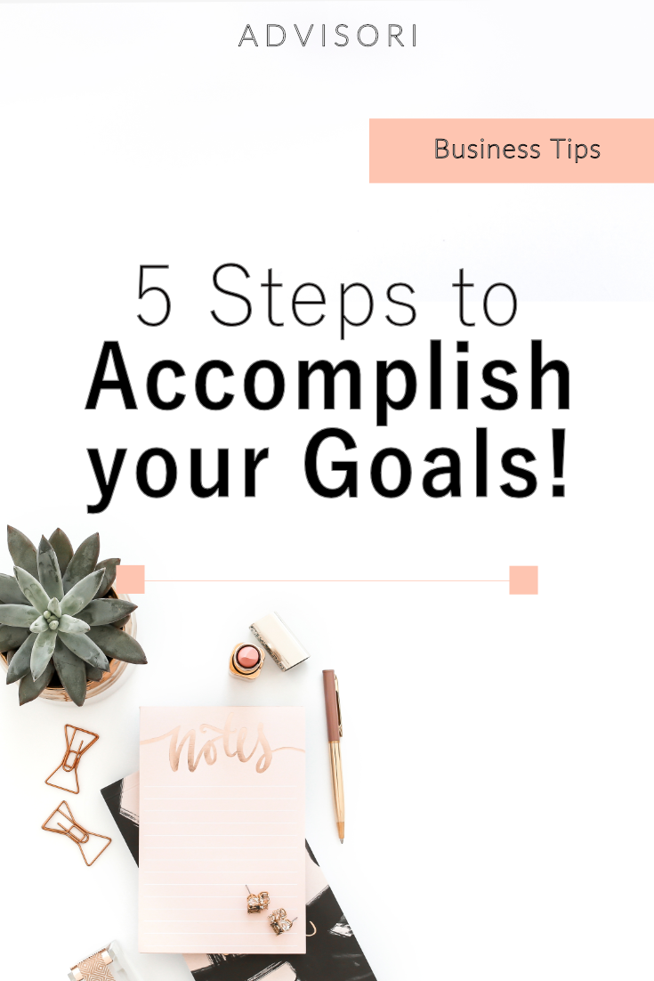 5 Steps To Becoming Wealthy: 5 Steps To Setting And Accomplishing Your Goals
