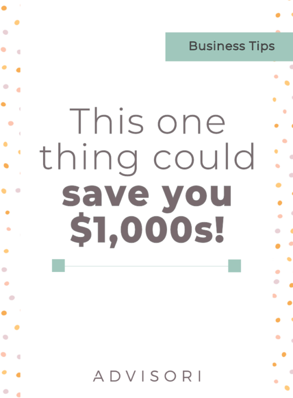 This one thing can save you $1,000s!