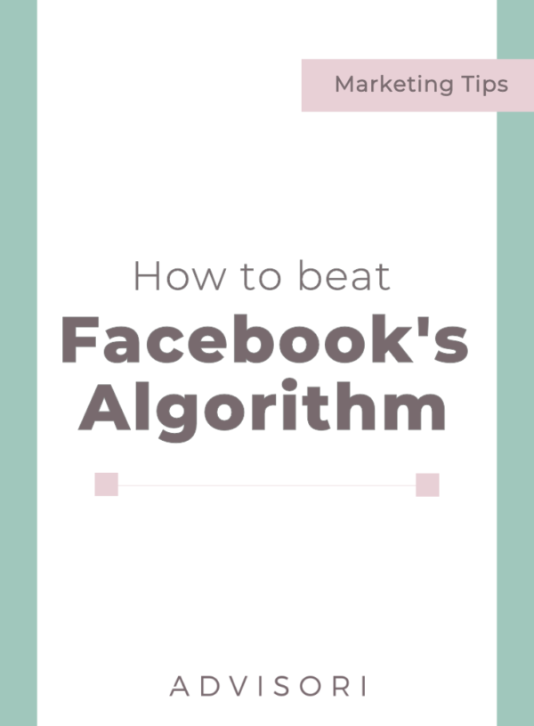 How to beat Facebook's Algorithm #facebookads #digitaladvertising #smallbusinesstips #socialmediaads