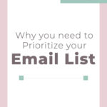 Prioritize your Email List