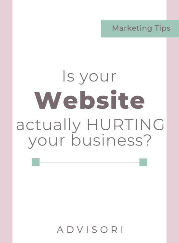 Is your website actually HURTING your business?