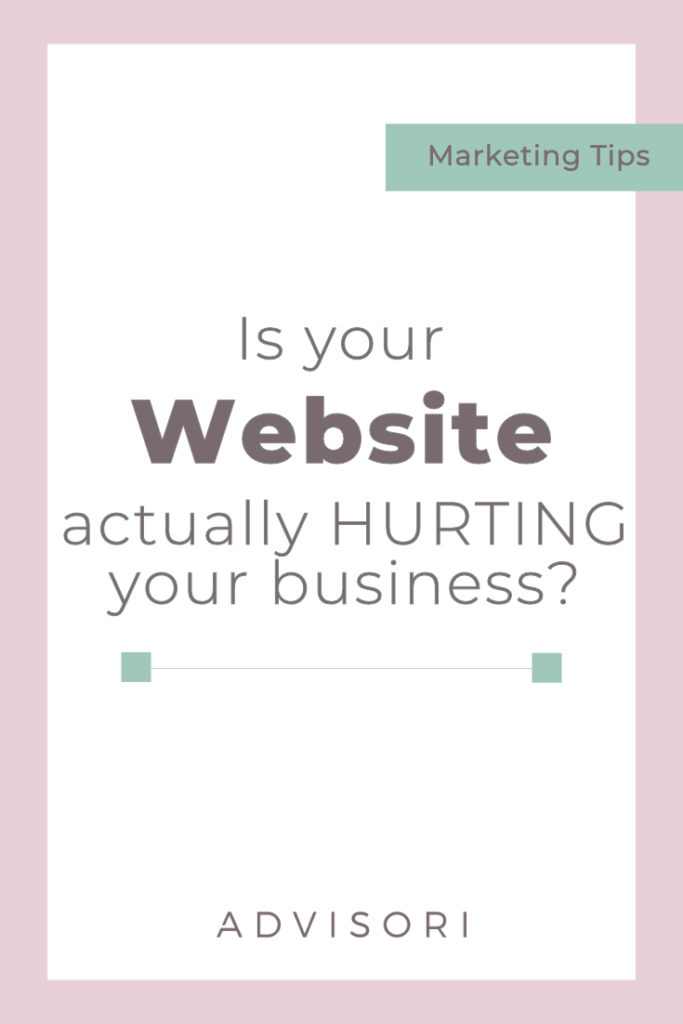Is your website actually hurting your business? #seo #website