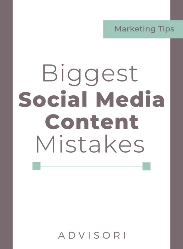 The Biggest Social Media Content Mistakes